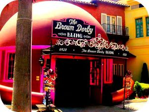 The brown derby bling