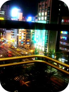 The view fr the elevator