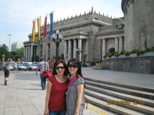 Mom & I in warsaw